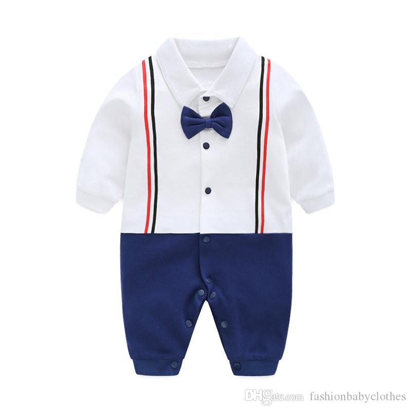 d9d8fc5409d02 2019 Baby Boy Clothes Newborn Long Sleeves Romper Cotton Toddler Infant  Kids Clothing Cartoon New Born Baby Children Jumpsuit Carters Dress