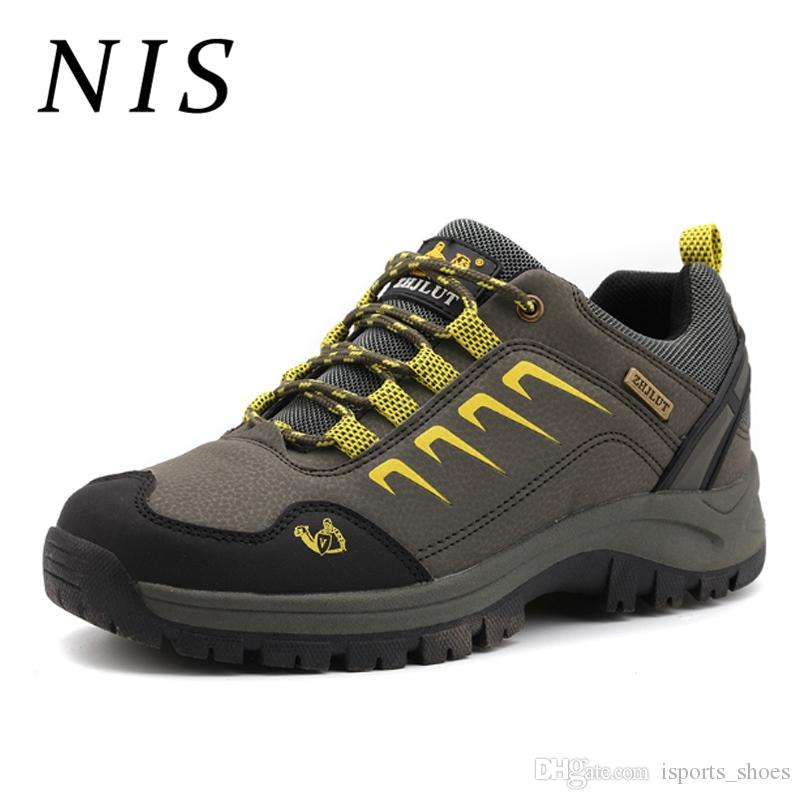 39fe0455192 NIS Men Hiking Safety Sneakers Outdoor Sport Trainers Breathable Waterproof  Climbing Sport Sneakers Casual Men Vulcanize Shoes #194889