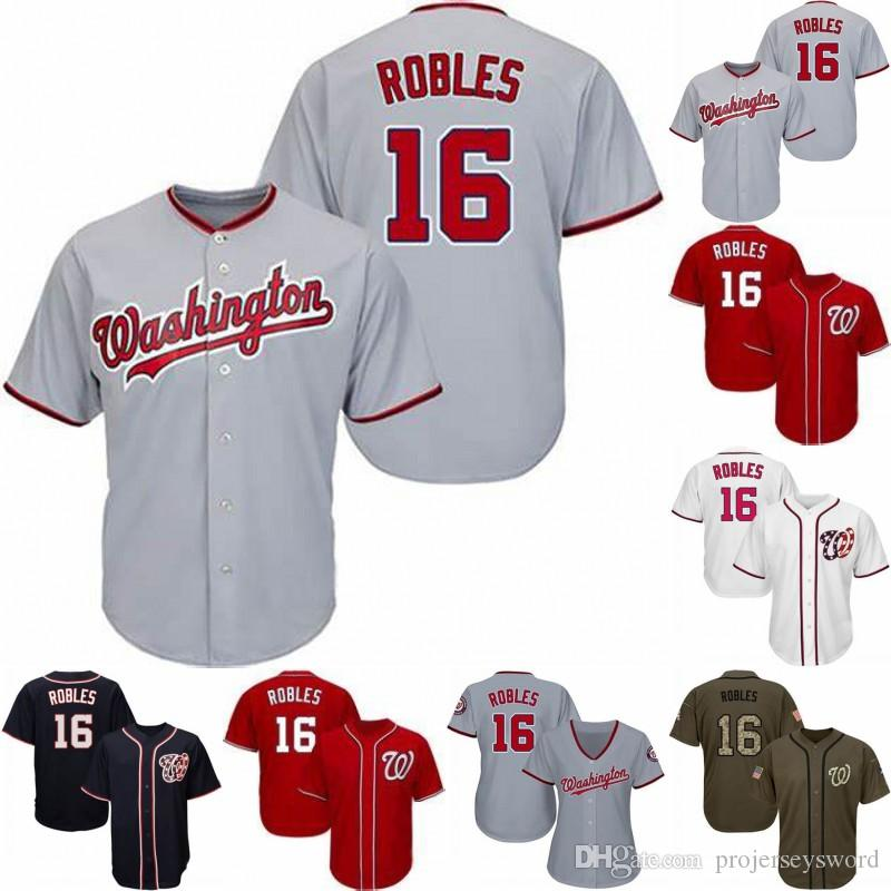 buy popular beafc 48dc8 #16 Victor Robles Jersey Mens Lady Youth Washington Victor Robles Best  Seller Nationals 100% Stitched Baseball Jerseys Free Shipping