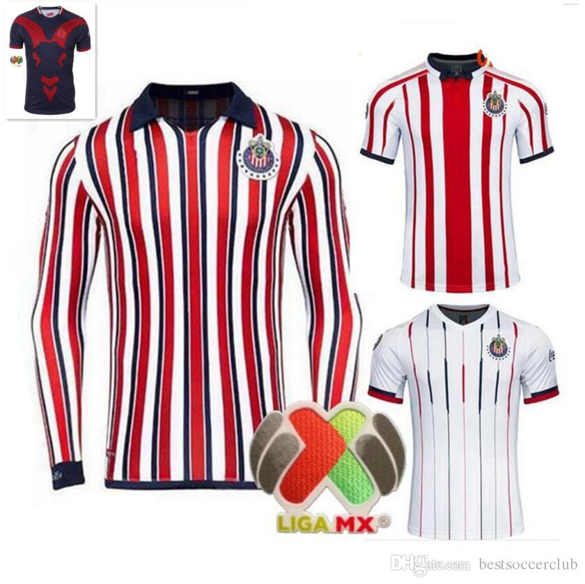 8c89f783f50 Top Quality 2019 Chivas Club World Cup Soccer Jersey Home Away ...