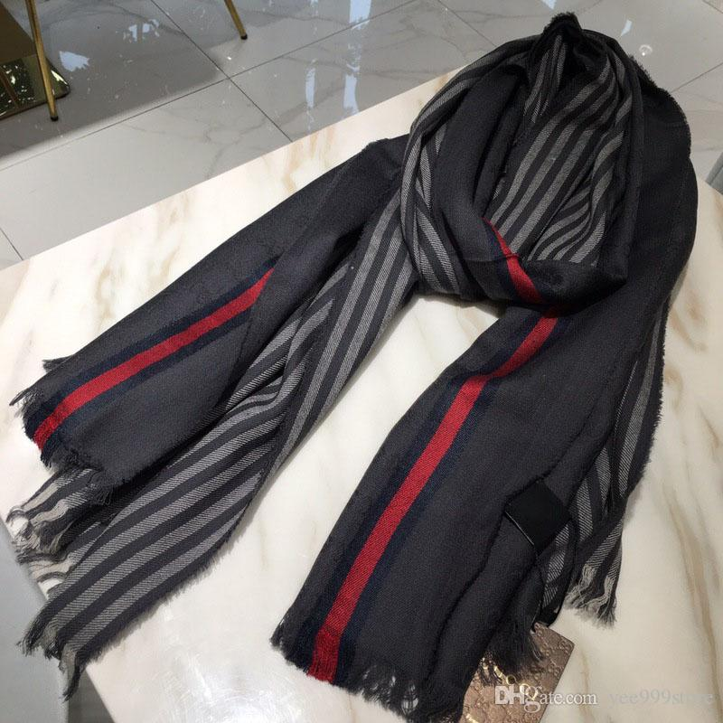 bb29eb0e3 Hot NEW Style Brand Designer Luxury Quality 100% Silk Cashmere Scarf Noble  Ladies Designer Scarf Winter Fall Warm Scarves with Original box