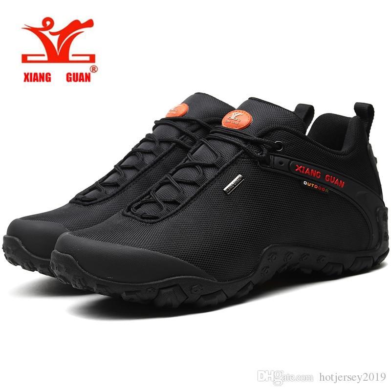 5602abd7a7 Compre Xiang Guan Al Aire Libre Hombres Mujeres Zapatos Para Caminar  Antideslizantes Botas Tácticas Escalada Camping Trekking Caminar Sneskers  Grande TAMAÑO ...