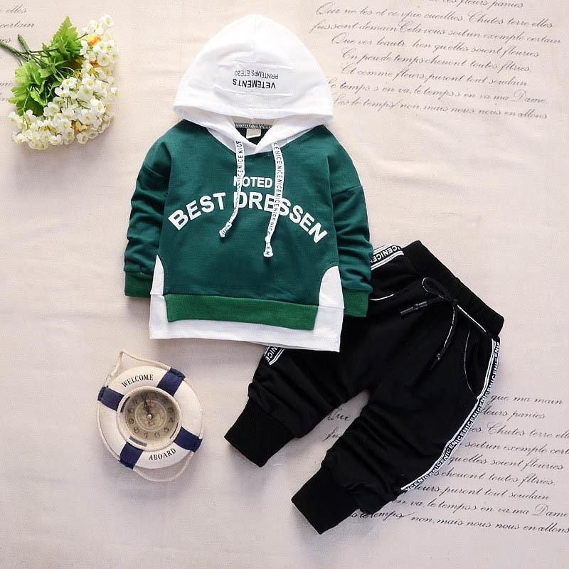 3ed7e5a610a6b 2019 BibiCola Boys Autumn Clothing Set Kid Hoodies Letter Cotton Outfits  For Children Clothes Bebe Tracksuit Boys Spring Costume From Cynthia04, ...