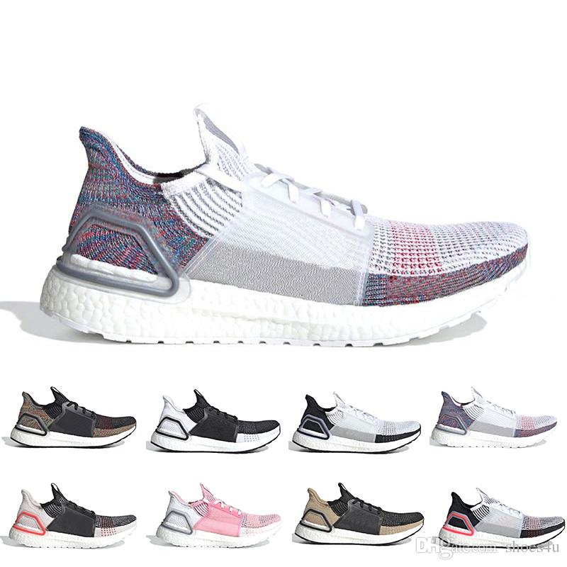 76a7555e41d87 Cloud White Black Ultra Boost 2019 Ultraboost Mens Running Shoes Dark Pixel  Refract Clear Brown Primeknit Sports Trainers Men Women Sneakers Sneakers  Sale ...