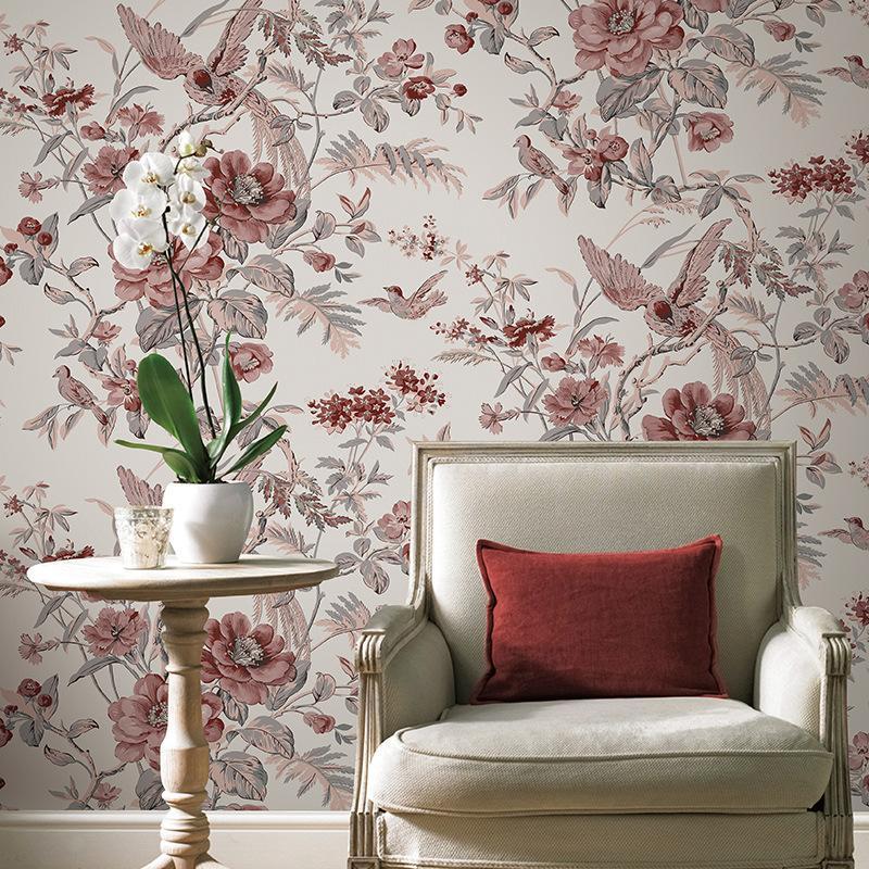 Floral Room Wallpaper: Acquista Carta Da Parati Floreale Cinese Carta Da Parati