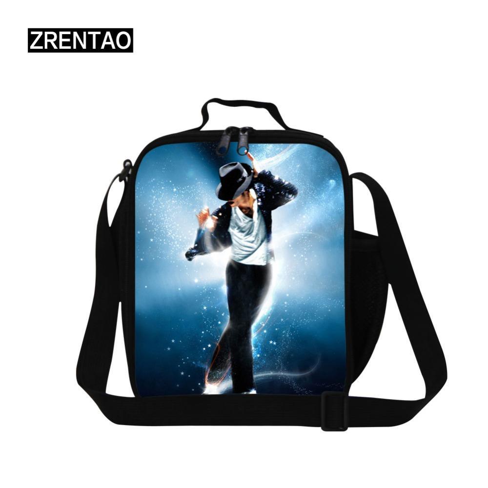 974b37787 Compre Micheal Jackson Portátil Lunch Bag Térmica Isolada Lunch Box Tote  Cooler Sacos De Armazenamento Escolar Bento Bolsa De Armazenamento De  Chuntianmei, ...