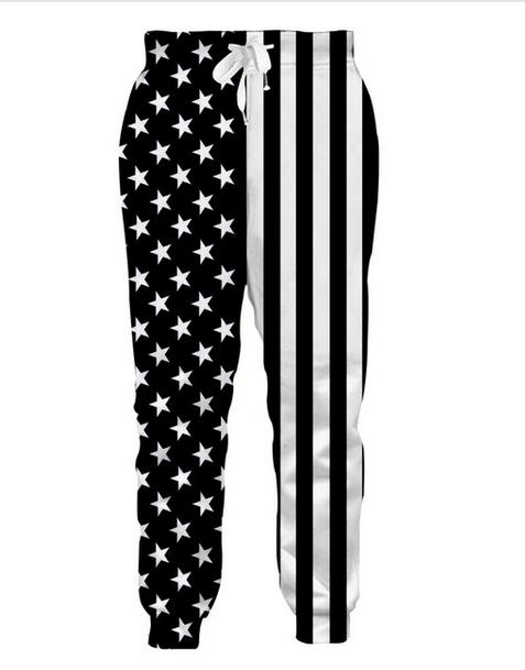 New Fashion Men Women USA Flag Harem Pants 3D Print Full Length Leisure Comfortable Trousers Funny Sweatpants Cool Style Plus Size RG049