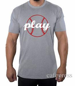 Play Ball Men 039 s Graphic Shirt Cool Baseball T shirts