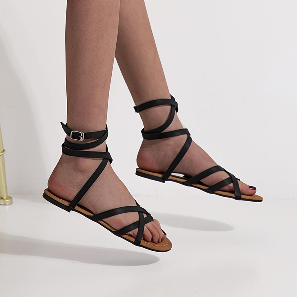 9f26b0696 Summer 2019 Women Boho Beach Dress Women Summer Sandals Sandals Fashion  Wedges Shoes For 2019 Black Leather#g6 Sparx Sandals Blue Shoes From  Xiexiezi, ...