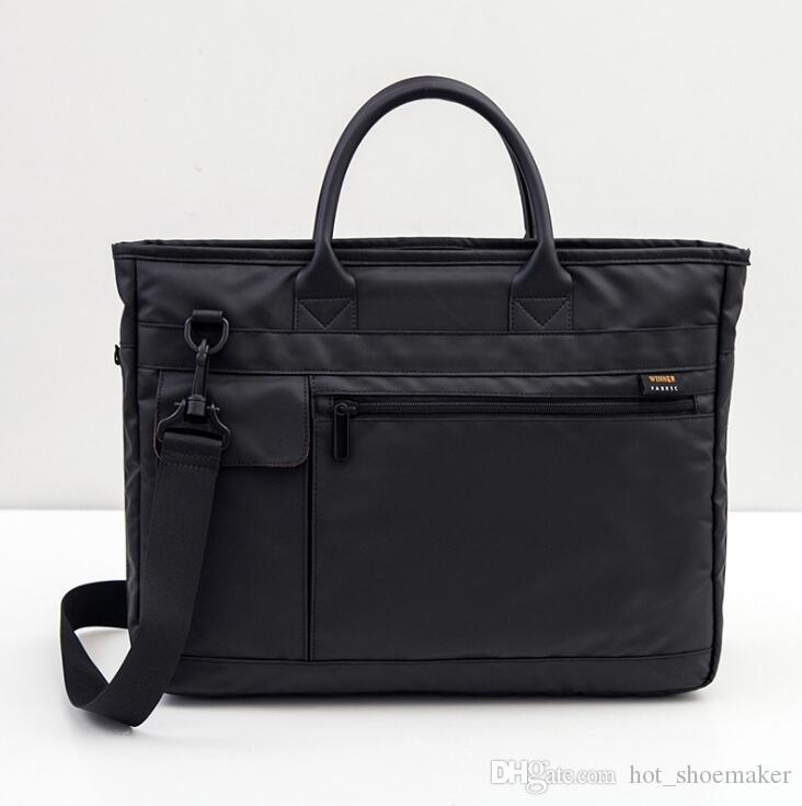 deb26fe2b416 Large Capacity Laptop Handbag For Men Women Travel Briefcase Bussiness  Notebook Bag For 14 15 Inch Macbook Pro W A17 70 #366690 Laptop Bags For Men  Mens ...