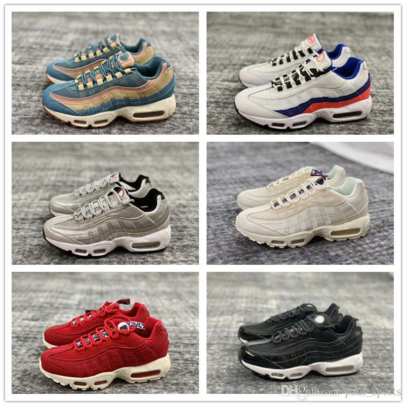 new arrival 2b8eb 91e57 Cheap Sale Best quality 95 Premium Running Shoes 95s Chaussures Black White  Red Blue Grey Men Women trainers Jogging Sneakers Size 36-45