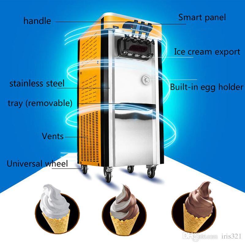 2432b065df571 Satın Al Satılık Dondurulmuş Yoğurt Makinesi Ticari Yumuşak Dondurma  Makinesi, $5.03 | DHgate.Com'da