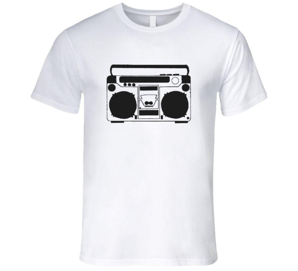 bcf34838fb3 Vintage Boombox Graphic Image 1980 S Boombox T Shirt Men Women Unisex  Fashion Tshirt It T Shirts Humor T Shirts From Designtshirts201808