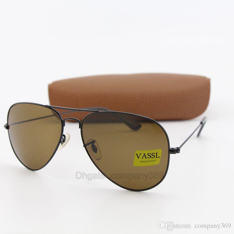 2639806011 High Quality Txrppr Classic Pilot Sunglasses Designer Brand Men ...
