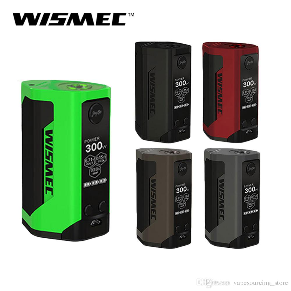 Retail Original Wismec Reuleaux RX GEN3 Box Mod Triple 18650 batteries with  300W max output Support GNOME Tank Designed by Jaybo