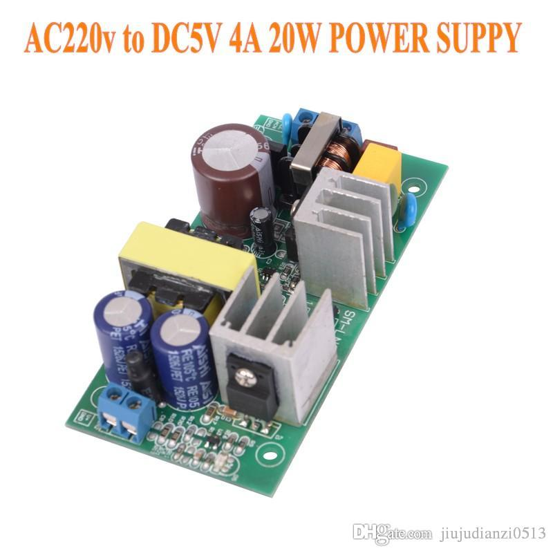 220V TO 5V 20W Power supply Isolated switch power supply module 220 to 5v  board GPN30E X8721