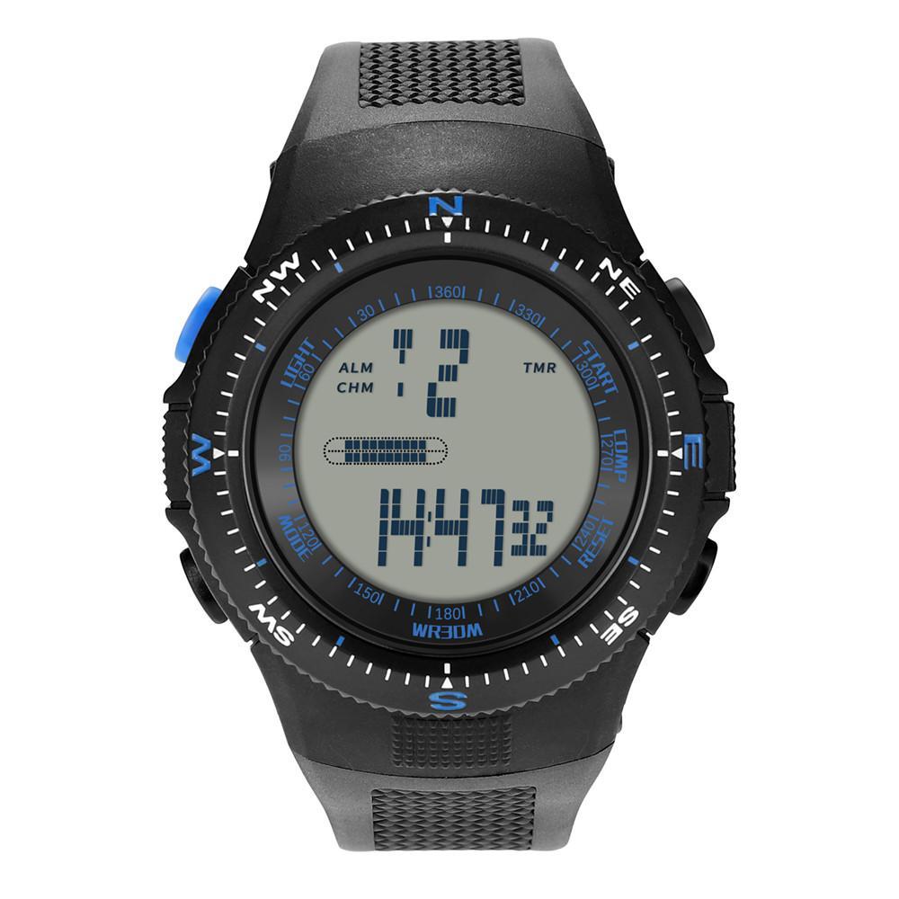 d0eacfe1e Watch Men Digital Waterproof Luxury Men Analog Digital Sport LED ...