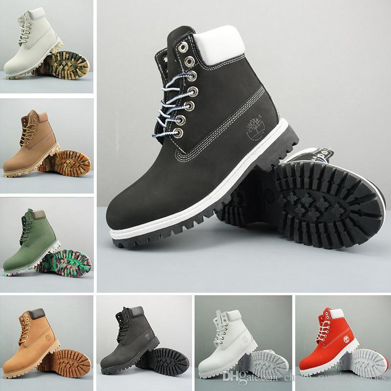 aff58eb30be5 Original Timberland Boots Women Men Designer Sports Shoes White Winter  Sneakers TBL Casual Women Luxury Brand Boot 36 46 Cheap Shoes Womens Shoes  From ...