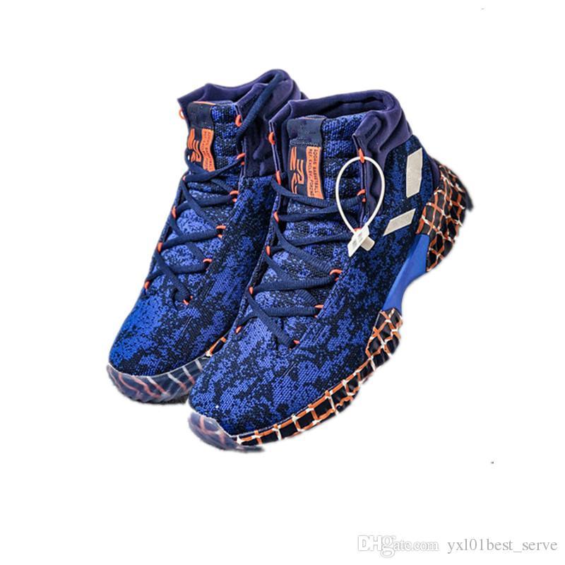 fc7afd6803f54 Compre 2019 Recién Llegado Pro Bounce Low Joel Embiid Zapatos De Baloncesto Para  Hombre De Buena Calidad Negro Azul Rojo Marca Deportes Zapatillas De ...