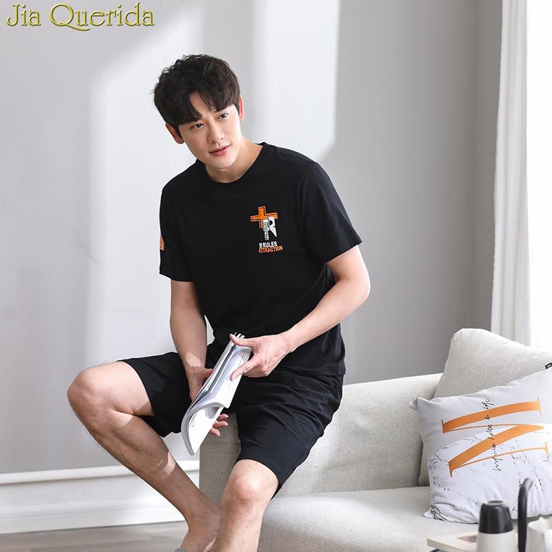 71110f7151 J Q Nightwear For Men 2019 Summer Shorts Pyjama Short Homme Men ...