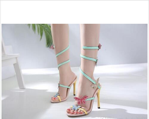 Venta Satén Sandalias Espiral Botas Gladiador Dijigirls Rodilla Mujeres En Caliente Rhinestone Zapatos Altas De Verano Girar xsdQthrC