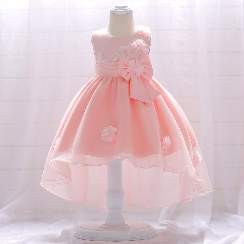 0af0418602c0c 2018 Baby Clothes Infant Wedding For First Birthday Girl Party Kids 1 Year  Baptism Dress 3 12 Months J190426