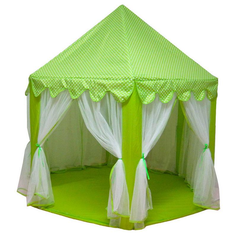 big sale b1418 61341 High Portable Foldable Princess Castle Play Tent Children Fairy House Funny  Indoor Outdoor Playhouse Beach Toys DOG88