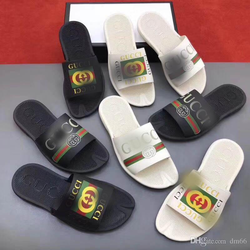 De Hombres Sandalias Deslizamiento Huarache Plano Ancho Resbaladizo Diseño Moda Verano Zapatos Lujo Con 2019 Gruesas Mujeres 9DH2WEIY