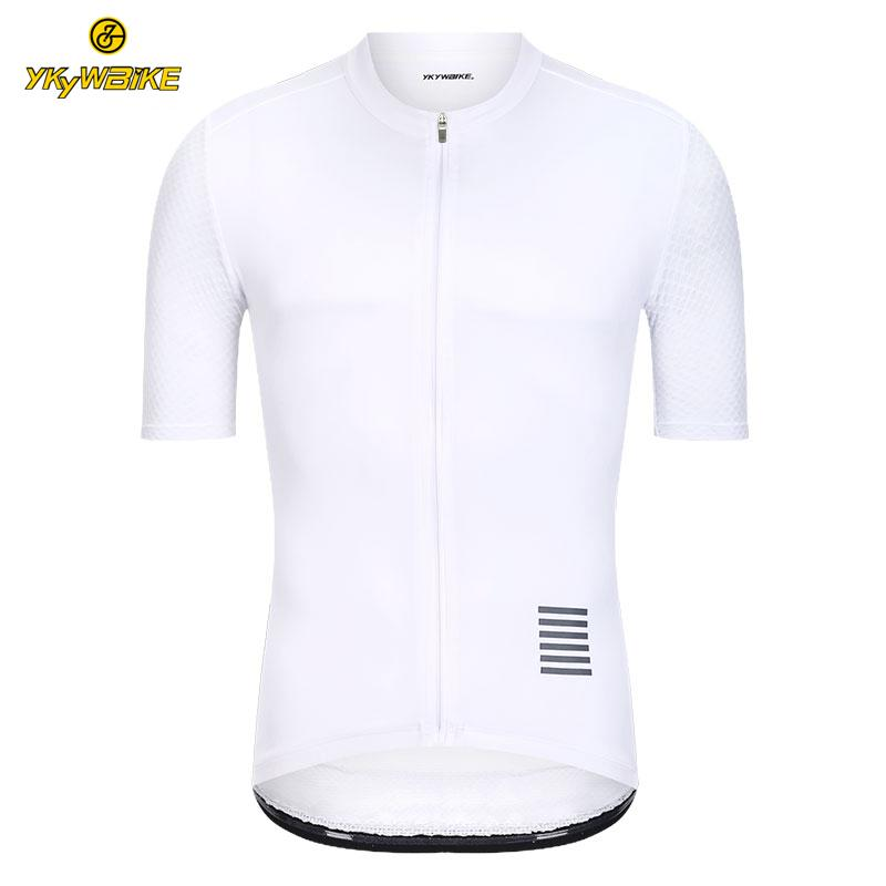 YKYWBIKE Mens Cycling Jersey White MTB Jersey Short Sleeve Bike Wear  Maillot Ropa Ciclismo Hombre Cycling Clothing In Stock Bike Pants Cycling  Bib Shorts ... 83b661c43
