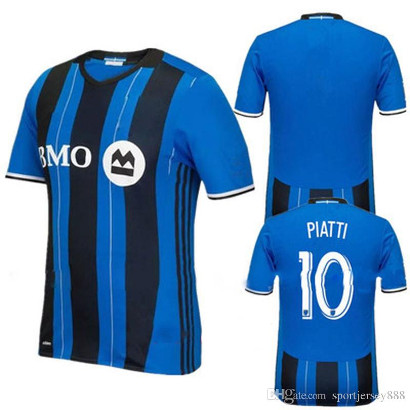 3408e0013 2019 2018 19 Men S Montreal Impact Authentic Jersey PIATTI Soccer Shirt  DROGBA Football Shirt From Sportjersey888