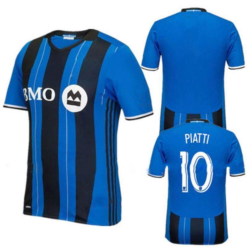 2019 2018 19 Men S Montreal Impact Authentic Jersey PIATTI Soccer Shirt  DROGBA Football Shirt From Sportjersey888 3c40b1d72