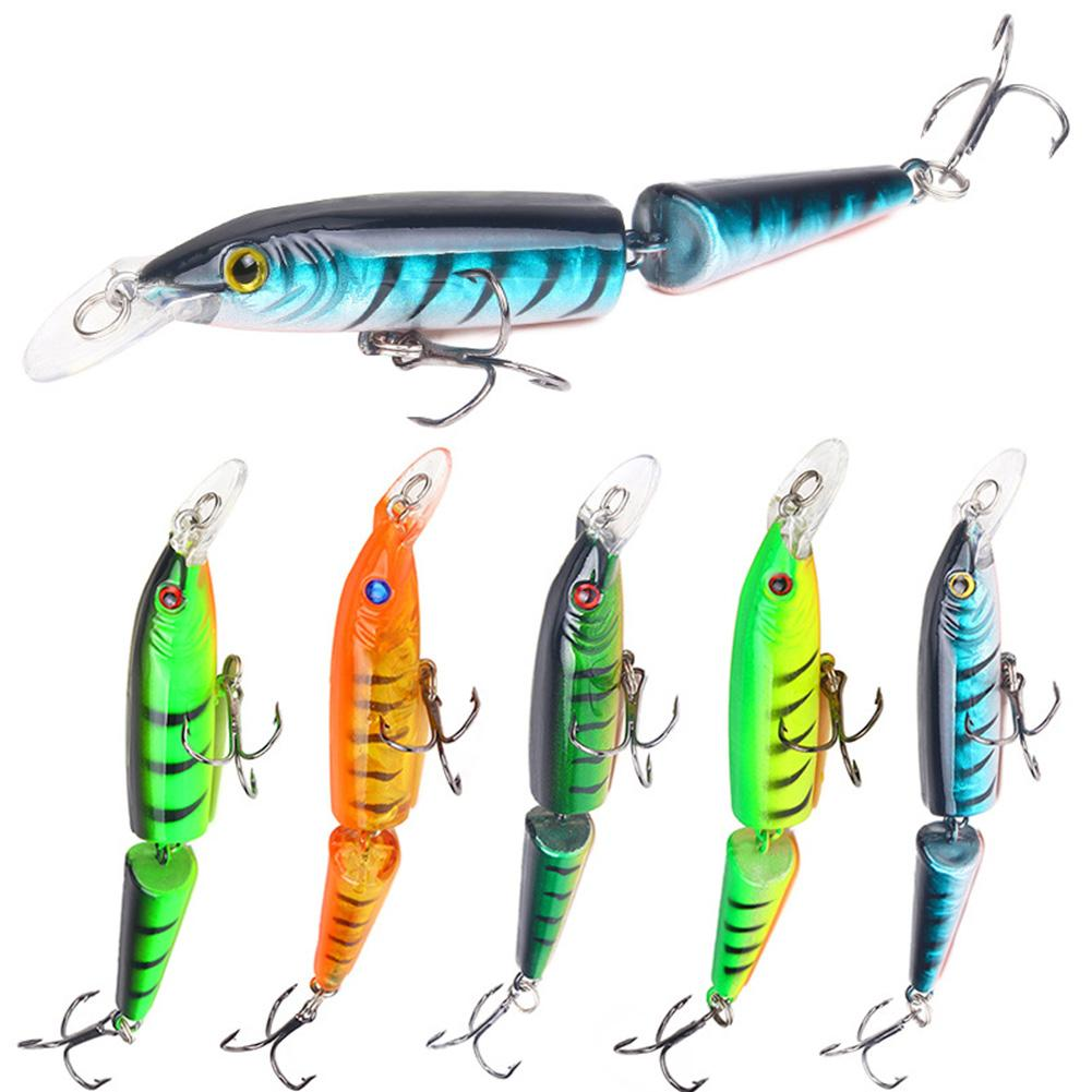 Sensitive Lakes Bass Lightweight Hard Metal Rivers Tackle Fishing Lure Sea Barbed Crank Boat Portable Buoyancy