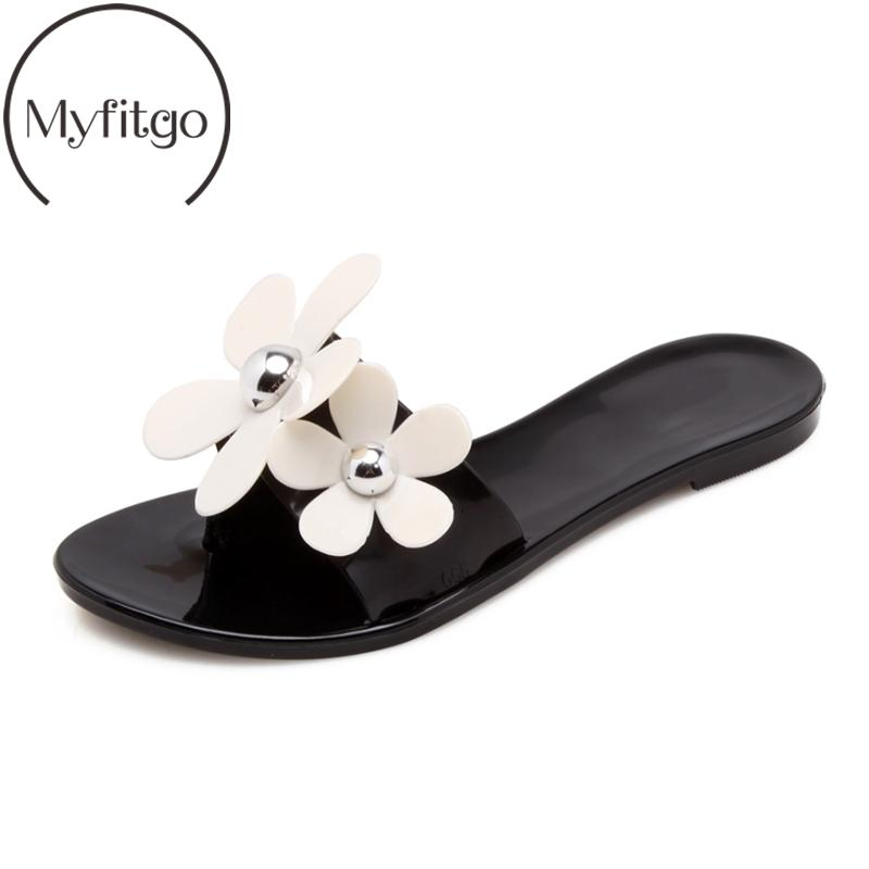 2c52bbe7f Summer Holiday Beach Slippers Girls Slides Sandals Women Flip Flops Flower  Sandals Slip On Flat With Jelly Shoes Women Slippers Shoe Sale Suede Boots  From ...