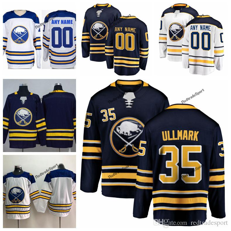 2018 Winter Classic Linus Ullmark Buffalo Sabres Hockey Jerseys Mens ... 0f13374a0