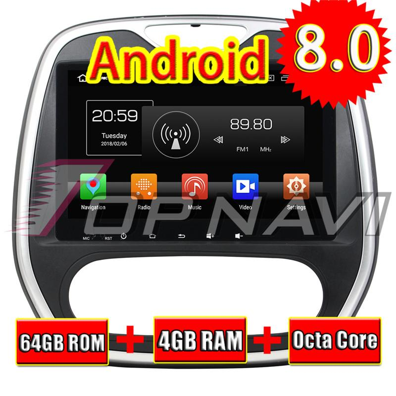 Topnavi Android 8.0 Car Media Center Player for Capture Manual 2016 Audio Radio Stereo 2 DIN GPS Navigation NO DVD 4+64G