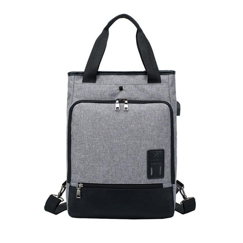 ab3fa1546e Korean Canvas Shoulder Bag Handbag Dual Use Hand Bags Couple Back Pack  Business Office Men Women Tote Handbag Fashion Rucksack Leather Handbags  Hand Bags ...
