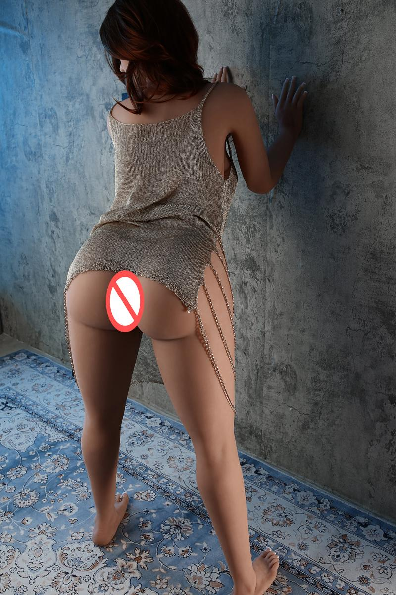 Lommny New 158cm Silicone Sexe Poupée Doitrine Oral Cul Vaginal Taille Real Taille Véritable Produit Adulte Top Qualité Simulation Love Jouet Poupées pour hommes