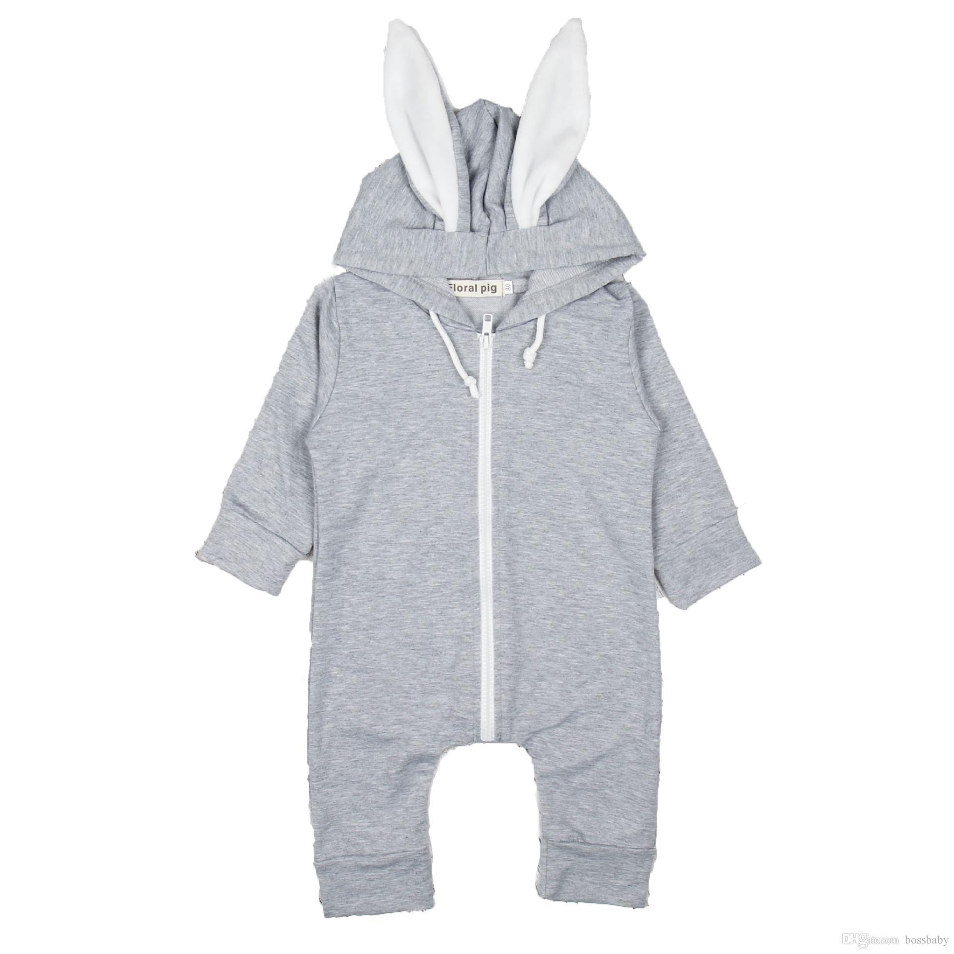 d0511817c 2019 Baby Rompers Jumpsuit Kids Crawling Clothes Simple Convenient ...