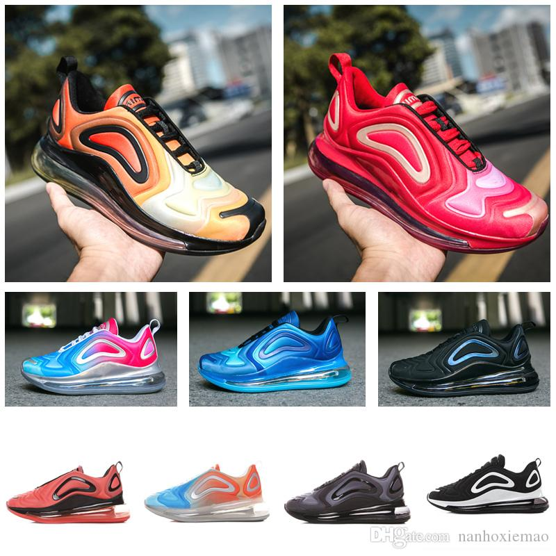 7785607b29a Acheter 15 Couleurs Vente Chaude 2019 Nike AIR MAX Vapormax 720 72C Run  Sports Sneakers Hommes Femmes Garçons Et Filles Mode Sport RUN Sneakers  Casual ...