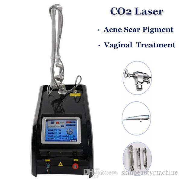 High Quality Metal Tube CO2 Laser Equipment Fractional CO2 Laser Skin  Resurfacing Pigmentation Therapy Laser Machine Factory Price