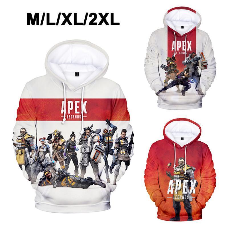 be2cd4c5d7df 2019 2019 Apex Legends 3D Printed Hooded Sweatshirt Women Men Spring Long  Sleeve Hoodies Hot Sale Casual Streetwear Pullover Tops From Benedica