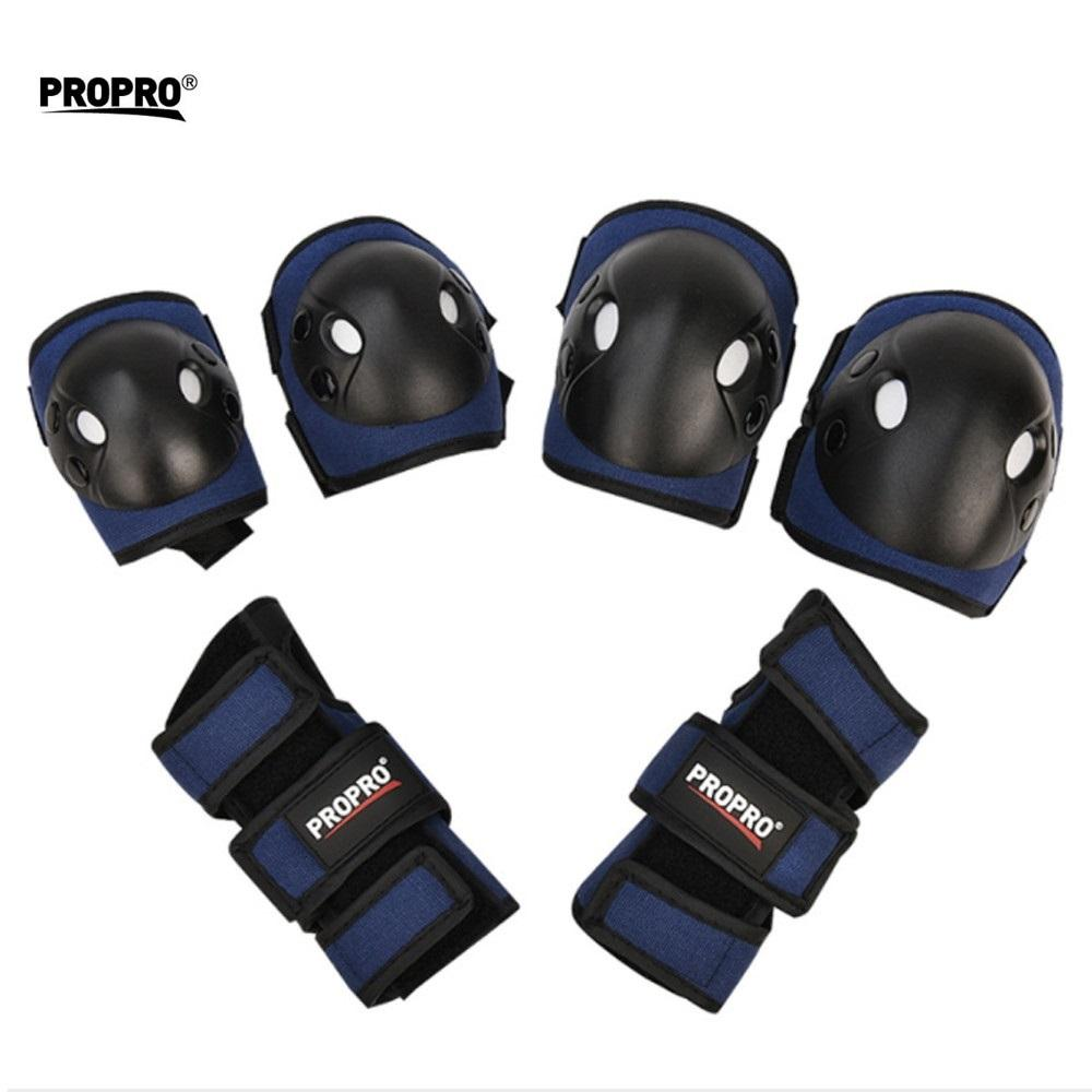 new Snowboard Knee Pads Child Sport Protector 6pcs Set Ski Tactical Skate Protective Hockey Brace Gear Wrist Elbow Joint Support