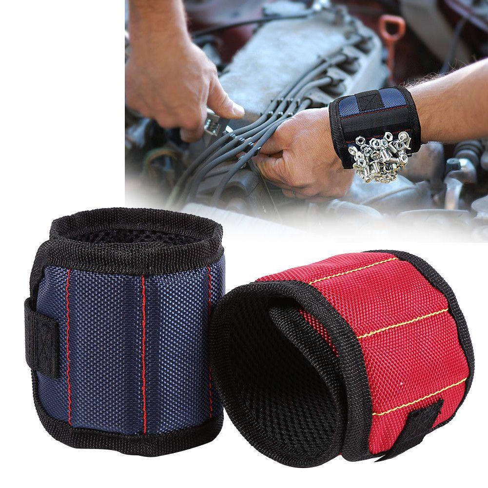 قوية المغناطيسي مسامير الاسورة أدوات مقص حامل التخزين المعصم أداة حزام