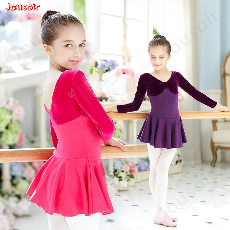 67b4cd689 2019 Children S Ballet Dance Dress Practice Clothes Girl Long ...