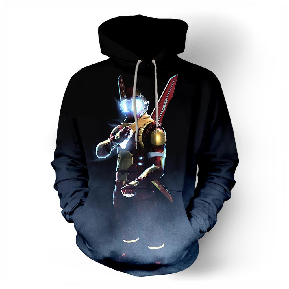 Battle Royal Casual Hoodies Jeux 3D Hoodies Battle Heroes Peau Unisexe Hip Hop À Capuche Fort Cosplay Vêtements