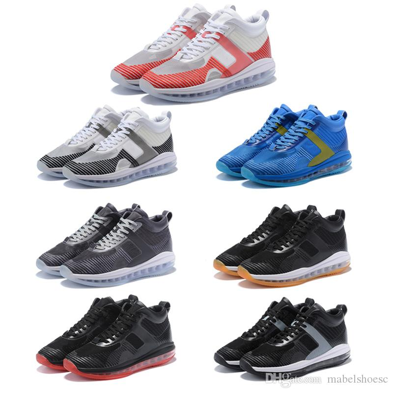 low priced da040 b33ea New Released Icon X John Elliott Basketball Shoes Sport Designer Sneakers  Fashion Outdoor Trainer Air Red Blue Black White With Box John Elliott  Basketball ...