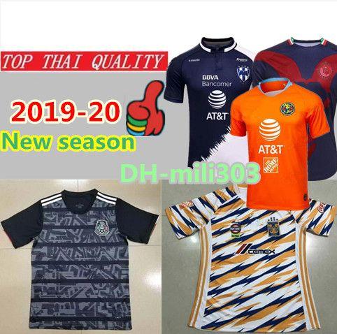 2019 AAA+ 2019 2020 Mexico Soccer Jersey 19 20 Mexico Club Chivas De  Guadalajara America Tijuana Third Soccer Jerseys UANL TIGRES Football Shirt  From ... f164499a0