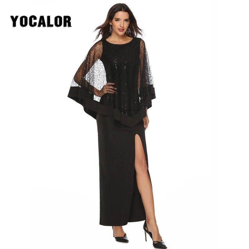 2019 Paillette Long Sundresses Maxi Sexy Summer Sundress Party Black Skater  Dress Female Dresses For Women Vestidos Plus Size Plus Size Special  Occasion ... e22bff0290
