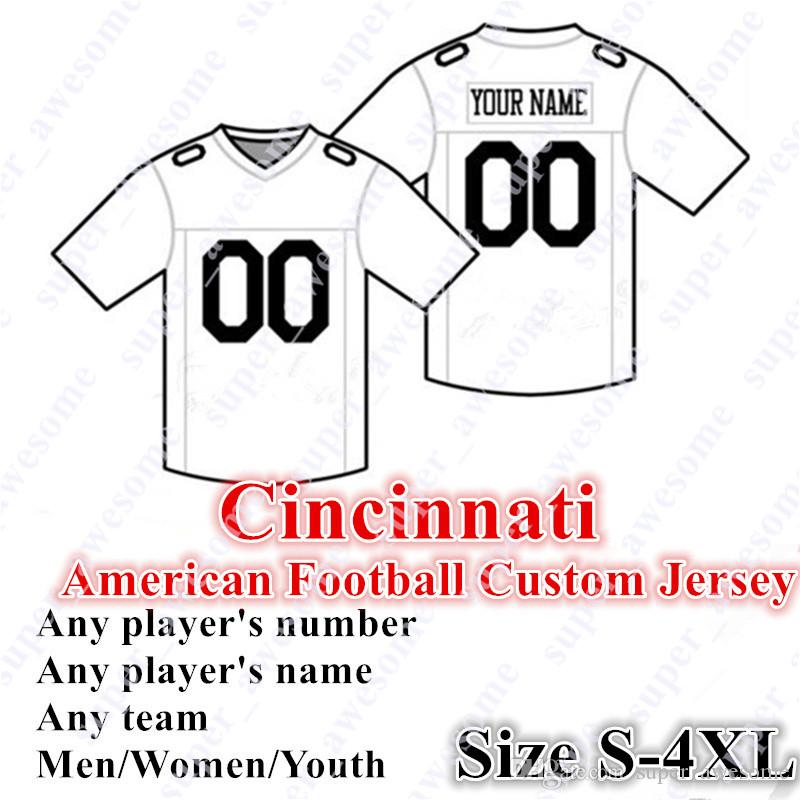 CUSTOM Cincinnati American Football Jerseys 85 Eifert Customized Sewn On Any  Name Any Number Size S 4XL Men Women Youth UK 2019 From Super awesome 79b315484