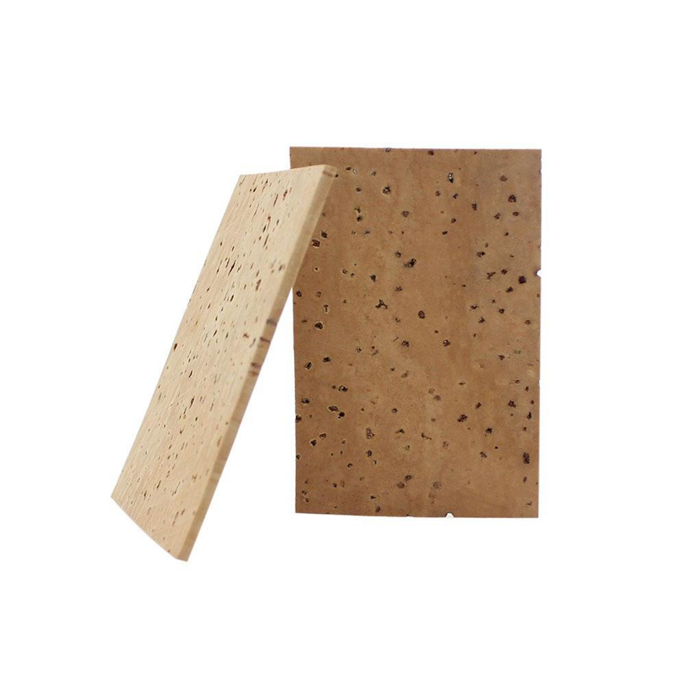 2pcs Natural Sax Neck Cork Sheet Suitable for Soprano / Tenor / Alto Saxophone Parts And Accessories